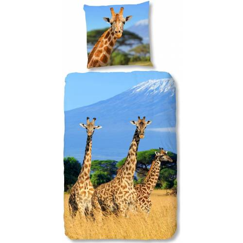 good morning Kinderbettwäsche »Spot«, , mit Giraffen
