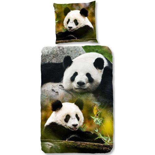 good morning Kinderbettwäsche »Sammy«, , mit Pandabären