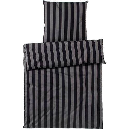Elegante Bettwäsche »Bloc Stripe«, , Bügelfrei