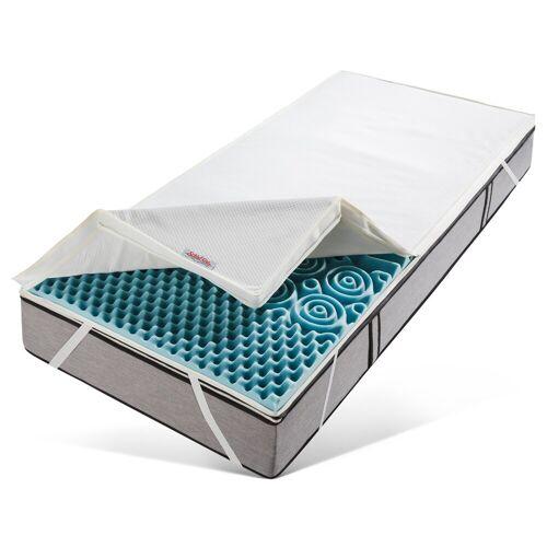 Schlaf-Gut Topper »Sanamed Luxus TKS«, , 6 cm hoch, Raumgewicht: 35, Kaltschaum