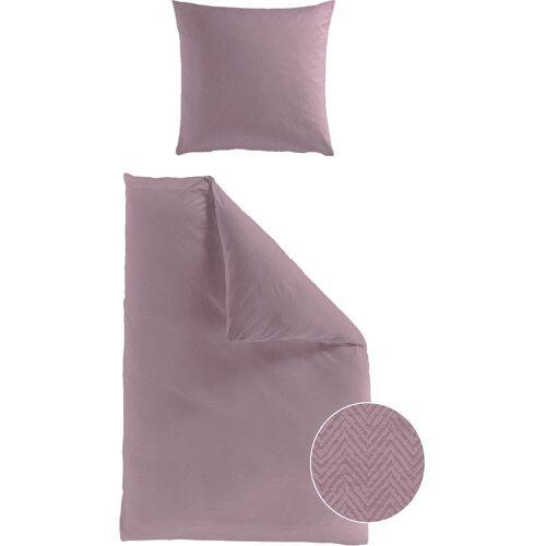 BIERBAUM Bettwäsche »Senci«, , mit Muster, rosa