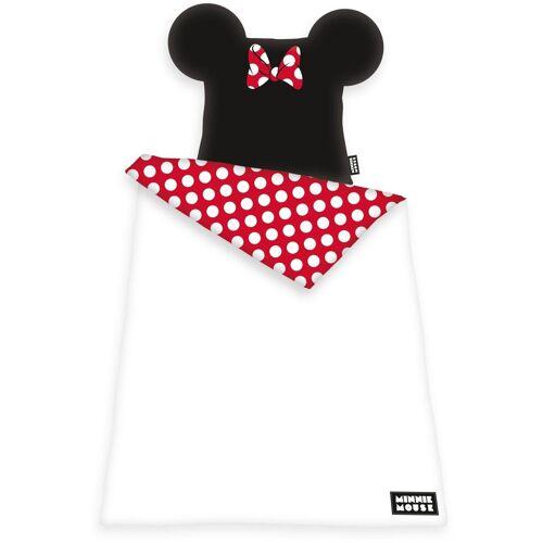 Disney Walt Disney Bettwäsche »Disney´s Minnie Mouse«, , mit Öhrchen