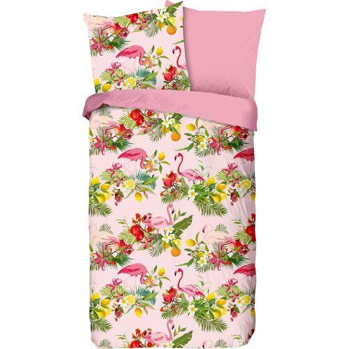 good morning Kinderbettwäsche »Flamingo«, , mit Flamingos