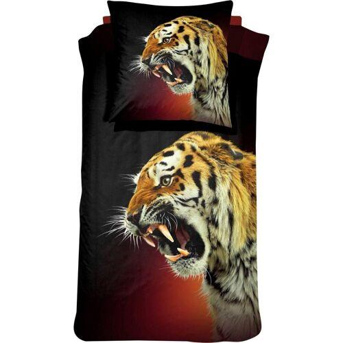 damai Bettwäsche »El Tigre«, , mit Tiger