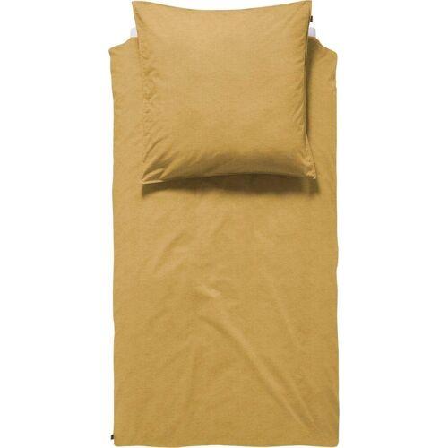 damai Bettwäsche »Birk«, , in schlichtem Design, ochre