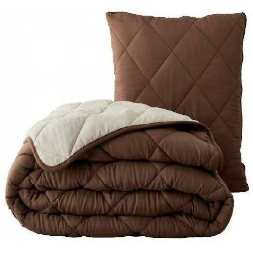 MPS TEXTILES Kopfkissen, »Magic Pillow«, , (1-tlg), 2/1 Funktion /Decke & Kissen, beige