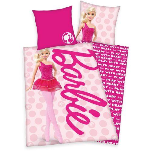 Mattel Kinderbettwäsche »Barbie«, , mit tollem Barbie-Motiv