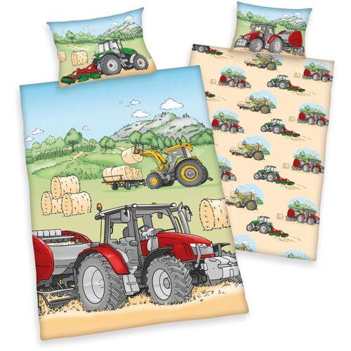Babybettwäsche »Traktor«, mit tollem Traktor-Motiv
