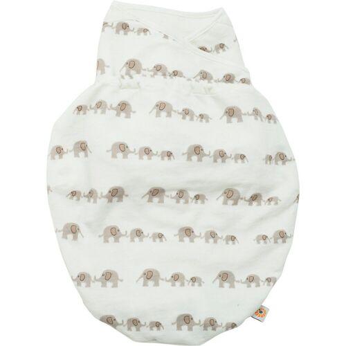 Ergobaby Babyschlafsack »Puck-Mich-Sack Original Swaddler - Bee Happy«, weiß Modell 3