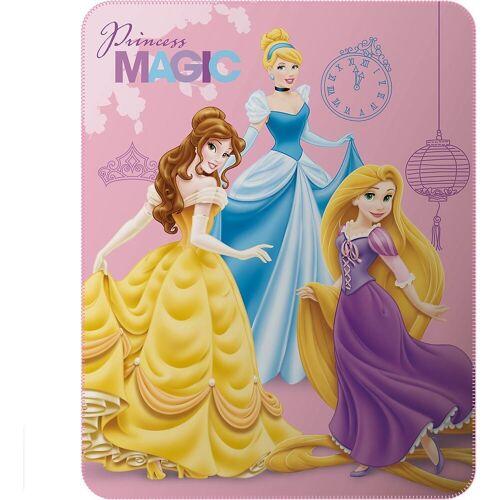 CTI Kinderdecke »Kuscheldecke Minnie Mouse, 110 x 140 cm«, , rosa