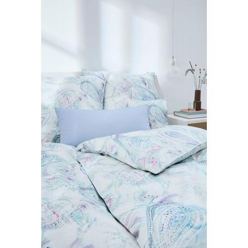 Elegante Bettwäsche »Levante«, , mit wunderschönem Paisley, bleu