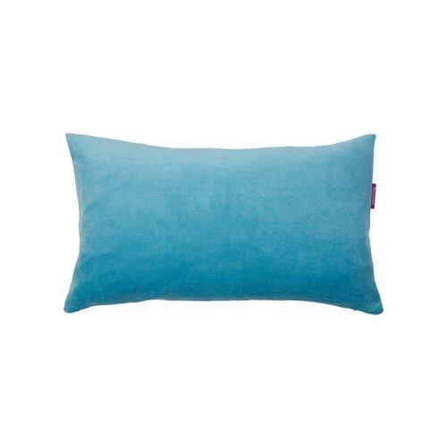 Farbenfreunde Kissenhüllen »Eckig Aqua 30 x 50 cm«, (1 Stück)