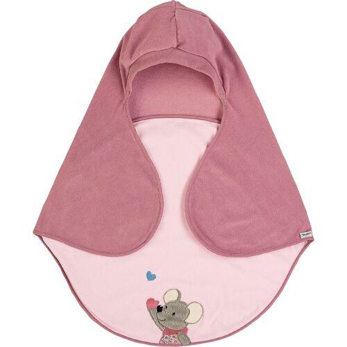 Sterntaler® Einschlagdecke »Mabel«, , mit Gurtschlitz, rosa