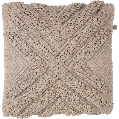 Dutch Decor Dekokissen »Boho Kissen, Dekokissen Ethno Muster, sand, 45 x 45 cm, inkl. Füllung, Zierkissen Couchkissen Sofakissen«