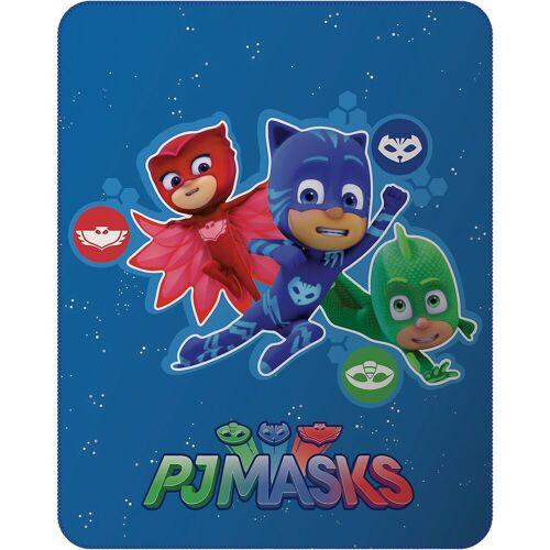 CTI Kinderdecke »Kuscheldecke PJ Masks Hero, 110 x 140 cm«,