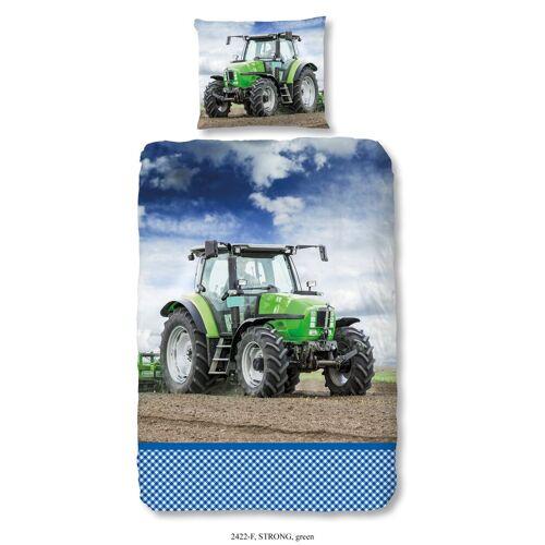 good morning Bettwäsche »TRAKTOR«, , cooler Traktor-Druck
