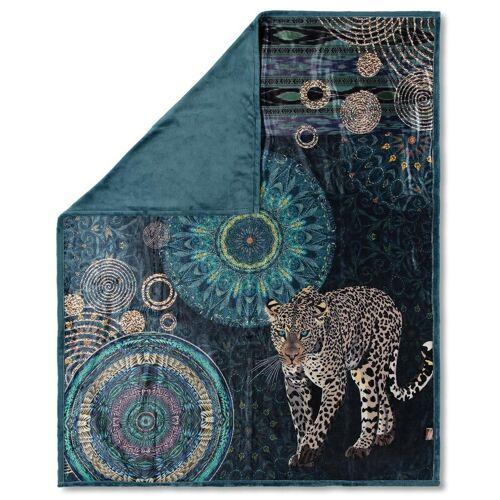 hip Plaid »IMENA 6675«, , mit Mandalas und elegantem Leopard