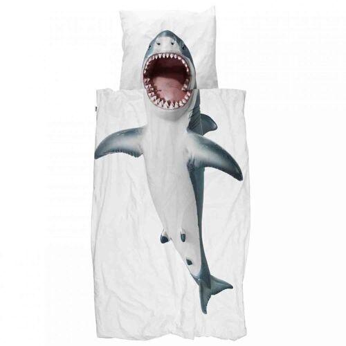 Snurk Bettwäsche »Bettwäsche Shark 135 x 200 cm 100% Baumwolle«,