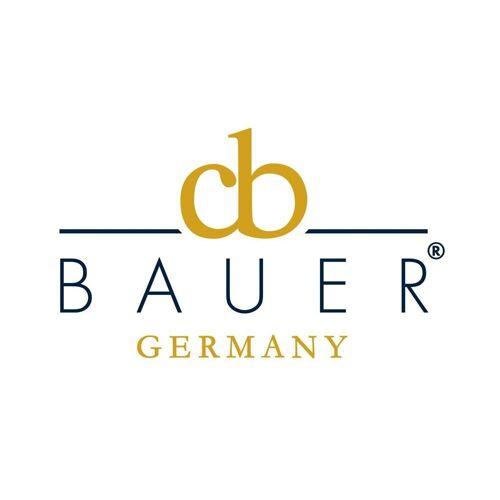 Curt Bauer Kissenbezug »Uni beige«, , Beige