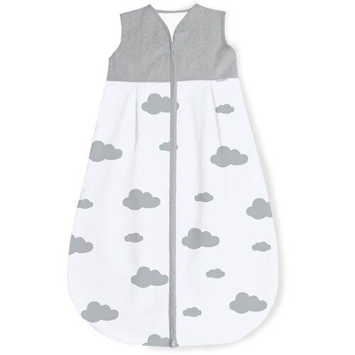 Pinolino® Babyschlafsack »Wölkchen«, grau