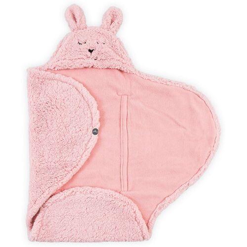 Jollein Einschlagdecke »Einschlagdecke Bunny, pink«,