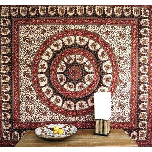 Guru-Shop Tagesdecke »Boho-Style Wandbehang, indische Tagesdecke..«,