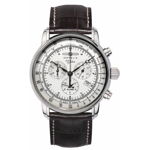 ZEPPELIN Chronograph »100 Jahre , 7680-1«, Made in Germany