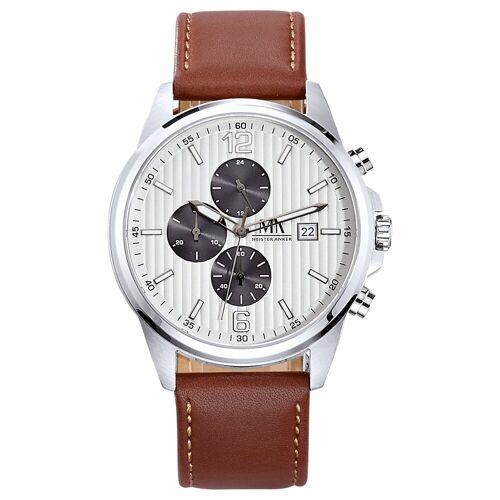Meister Anker Chronograph »Edelstahl«, grau