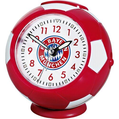 FC Bayern Radiowecker »München Wecker Emblem«, rot/weiß