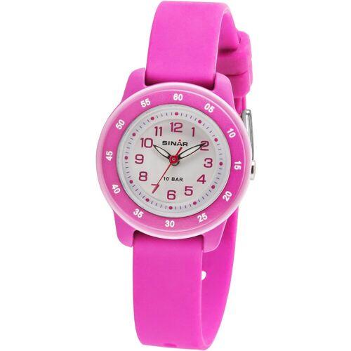 SINAR Kinder Armbanduhr, pink