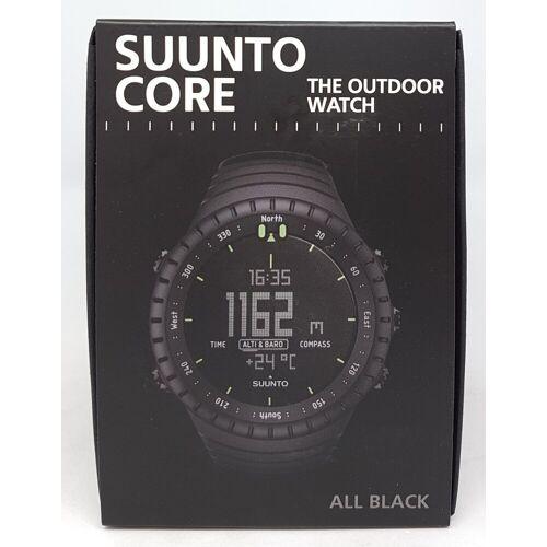Suunto Gesichtshaarentferner Core All Black Outdoor Uhr für alle Höhenla