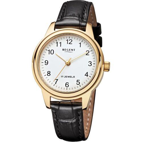 Regent Mechanische Uhr »3601, F959«, schwarz