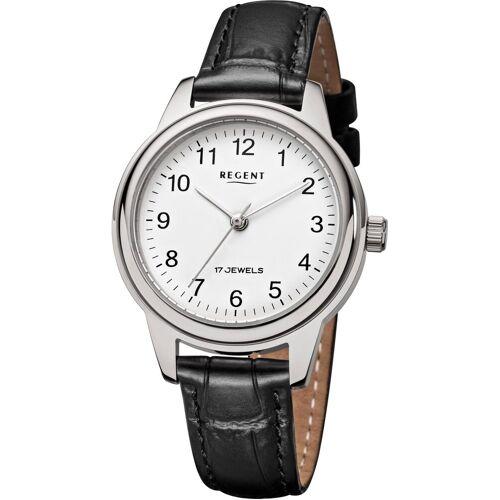 Regent Mechanische Uhr »3601, F957«, schwarz