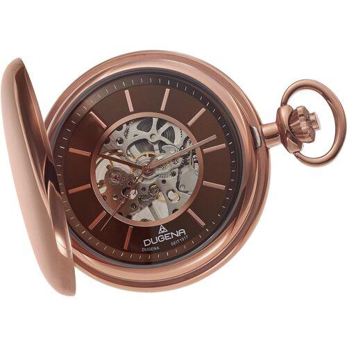 Dugena Taschenuhr »Savonette, 4460977«, bronzefarben