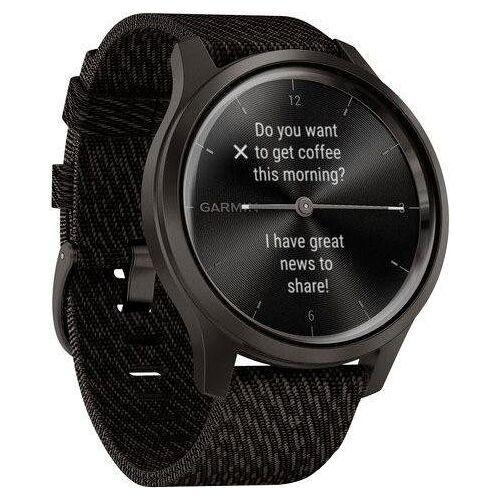 Garmin VIVOMOVE STYLE Smartwatch, grau