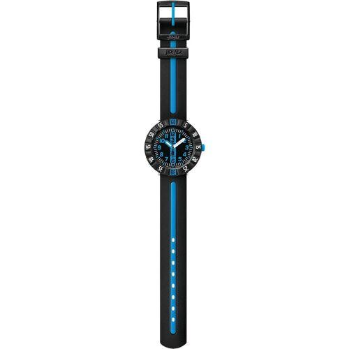 Flik Flak Armbanduhr für Jungen, schwarz