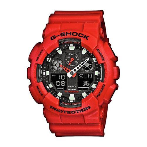 Casio G-SHOCK Chronograph »GA-100B-4AER«, rot