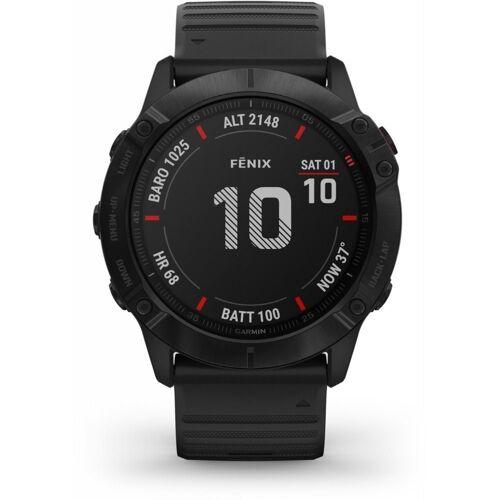 Garmin fenix 6X Pro - Sportuhr - schwarz Smartwatch