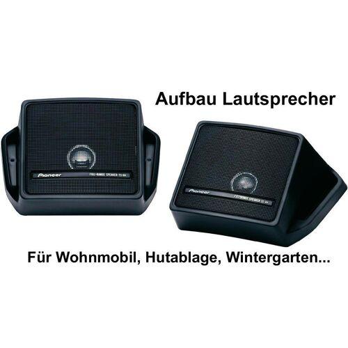 Pioneer Multiroom-Lautsprecher (Aufbaulautsprecher FullRange TS-44 Lautsprecher Paar)