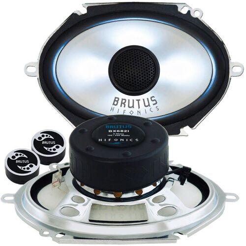 Hifonics Multiroom-Lautsprecher (BX682i - 6x8 LED - Lautsprecher Boxen)