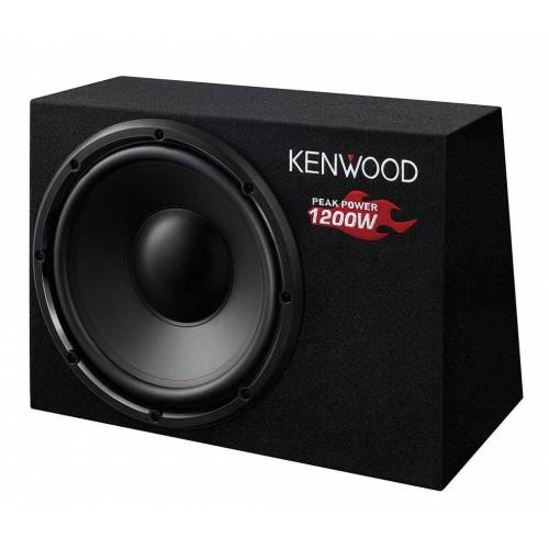 Kenwood Subwoofer (KSC-W1200B - 30cm Subwoofer)