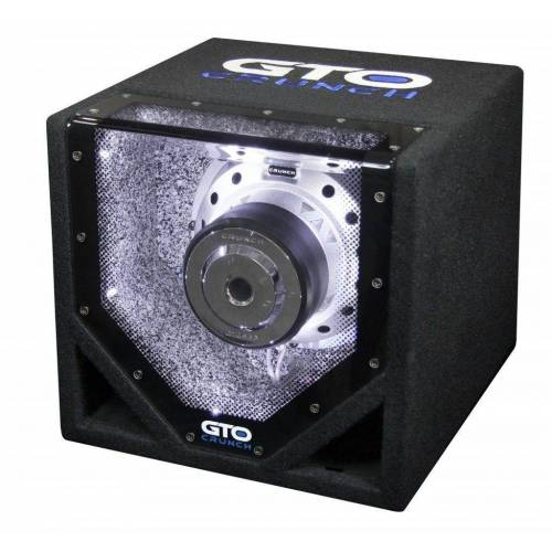 Crunch Subwoofer (GTO 8 BP - 20cm Bandpass Subwoofer)
