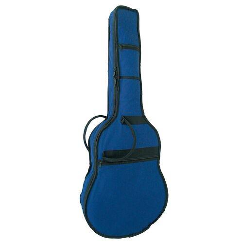 Gitarrentasche »Gig Bag«, gepolstert, für Westerngitarren 4/4, blau