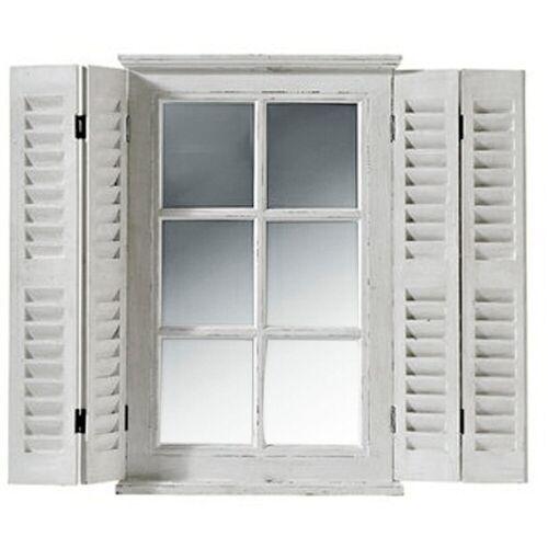heine home Spiegelfenster als Wanddeko, weiß