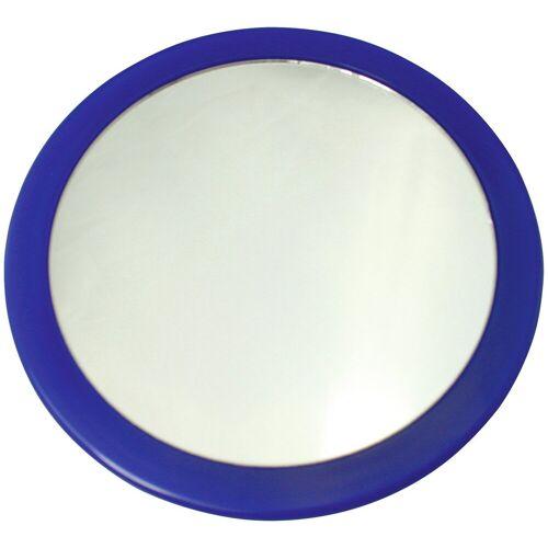 MSV Kosmetikspiegel »Vergrösserungsspiegel«, mit 3-fach Vergrößerung, blau