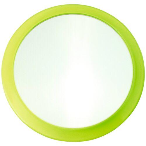 MSV Kosmetikspiegel »Vergrösserungsspiegel«, mit 3-fach Vergrößerung, grün
