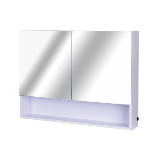 HOMCOM Spiegelschrank »LED Wandspiegelschrank«