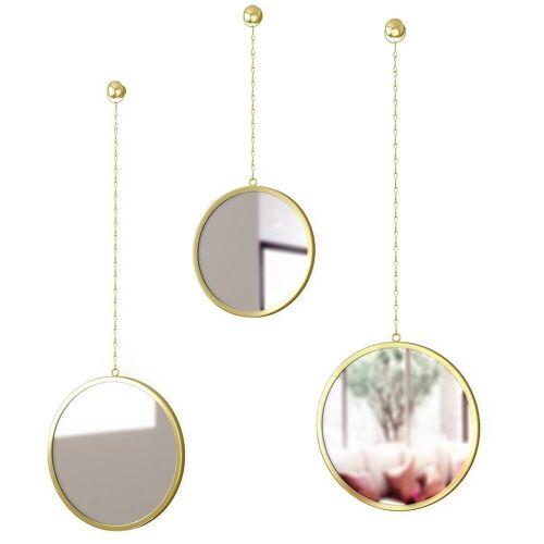 """Umbra Wandspiegel »3-teiliges Spiegel-Set """"Dima"""", rund«"""