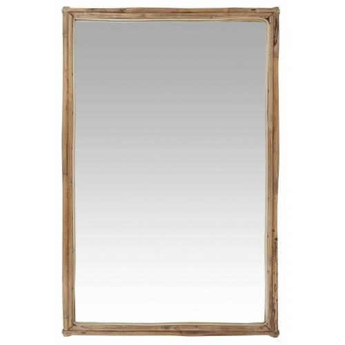 Ib Laursen Spiegel »- Wandspiegel Spiegel (9090-30) Bambus 75,5cm x 49,5cm«