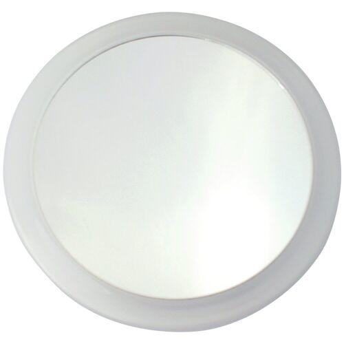MSV Kosmetikspiegel »Vergrösserungsspiegel«, mit 3-fach Vergrößerung, weiß